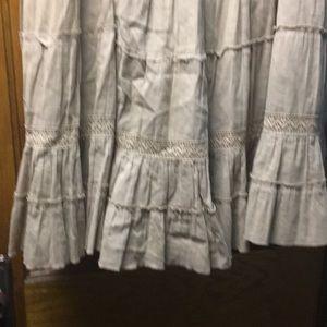 Caslon Skirts - Caslon Women's Tan Full Skirt